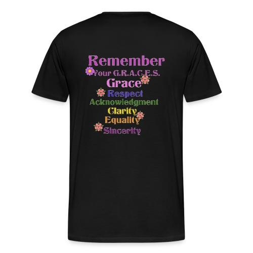 Remember Your GRACES - Men's Premium T-Shirt