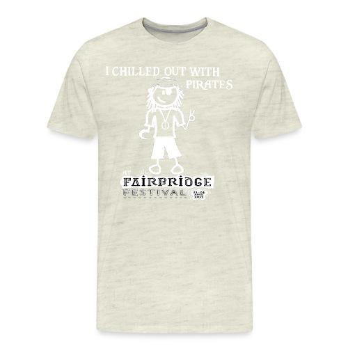 Fairbridge Festival 2017 TShirt Rolled Edge - Men's Premium T-Shirt