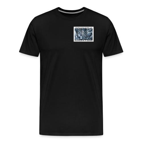 118 shirt peace ka copy - Men's Premium T-Shirt