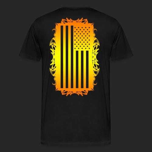 Wicked Dano US Flag - Men's Premium T-Shirt