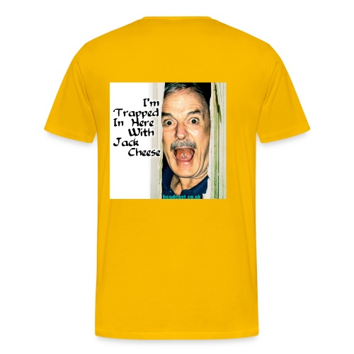 trapped w cheese - Men's Premium T-Shirt