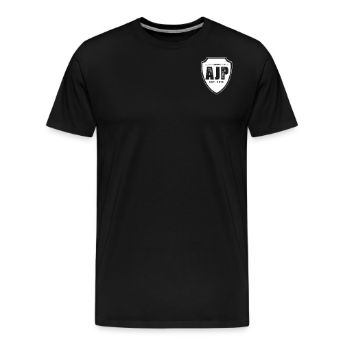 AJP Shield white - Men's Premium T-Shirt