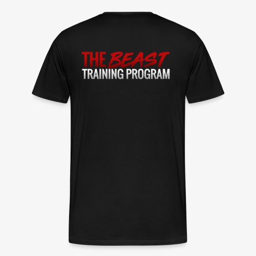 Beast Training Program Colour - Men's Premium T-Shirt