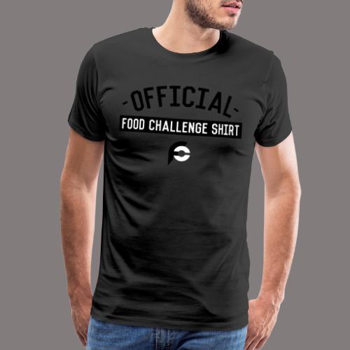 Official Food Challenge Shirt 1 - Men's Premium T-Shirt