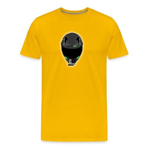 ICON WHITE png - Men's Premium T-Shirt