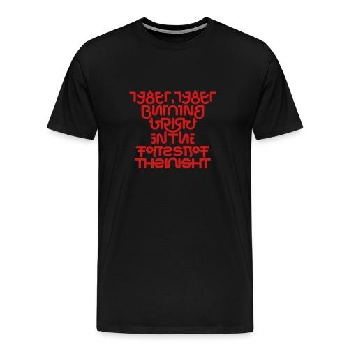 tyger1v - Men's Premium T-Shirt