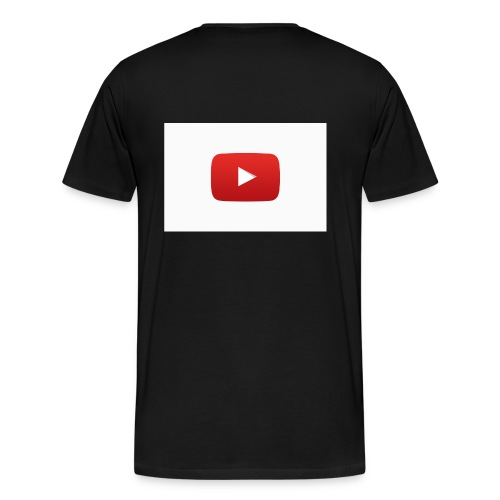 YouTube social icon2 jpg - Men's Premium T-Shirt
