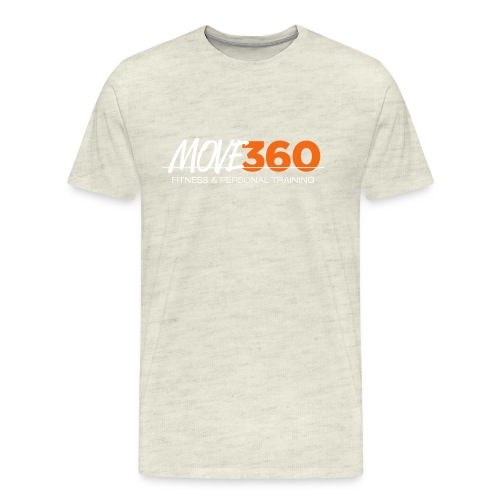 Move360 Logo LightGrey - Men's Premium T-Shirt