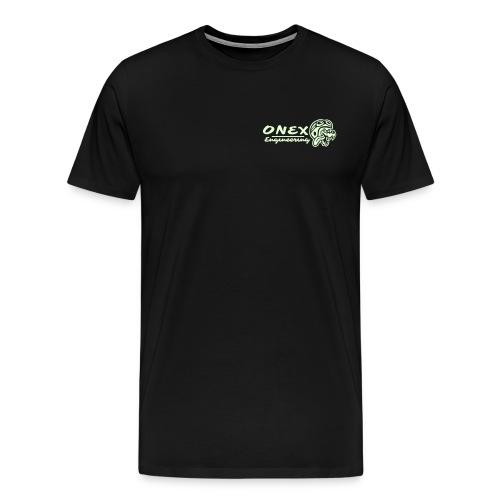 Wolf H Text 1e - Men's Premium T-Shirt