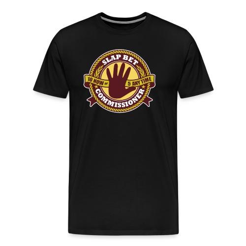 Slap Bet Commissioner - Men's Premium T-Shirt