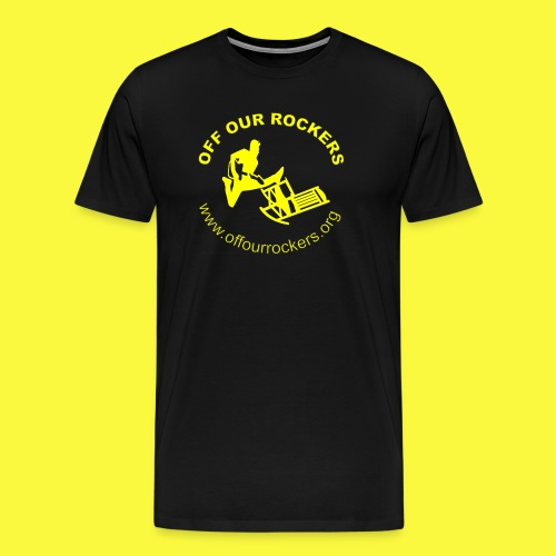 2Yellow Logo png - Men's Premium T-Shirt
