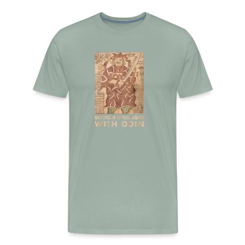 Boston Stronger with Odin - Men's Premium T-Shirt