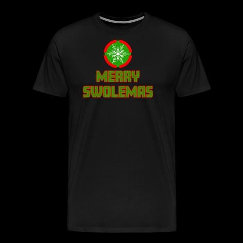 MERRY SWOLEMAS - Men's Premium T-Shirt