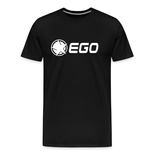 EGO Star With Text - Men's Premium T-Shirt
