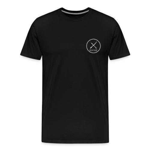 Ocean Deep white circle - Men's Premium T-Shirt