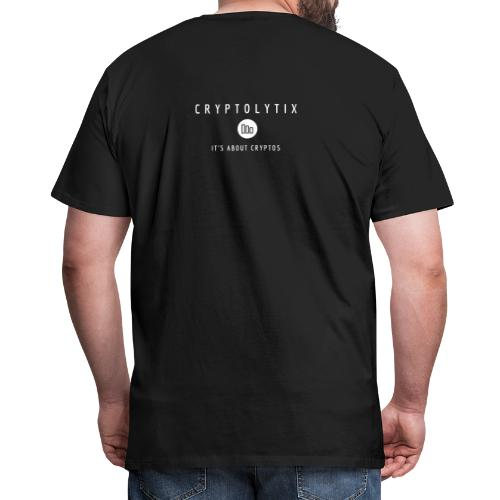 It's about CRYPTOs on your back - Men's Premium T-Shirt