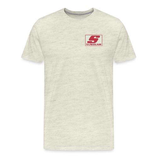 sunbeam logo shirt 1 jpg - Men's Premium T-Shirt