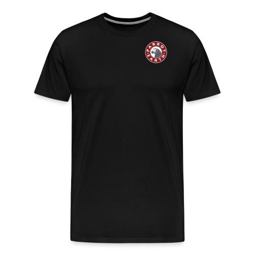 ParrotEarth Logo Red - Men's Premium T-Shirt