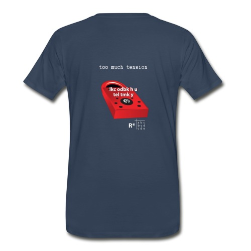 Lock Encrypted Shirt - Men's Premium T-Shirt