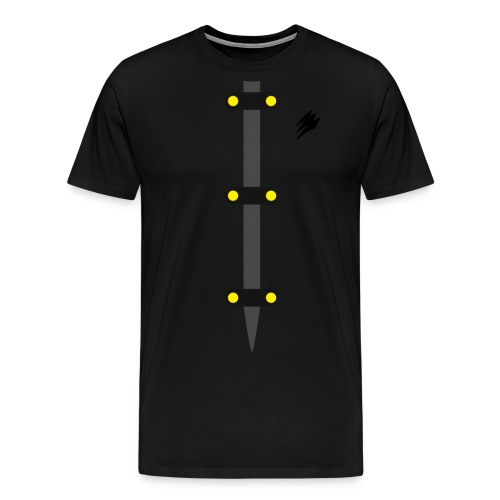 gekiclothfinal - Men's Premium T-Shirt