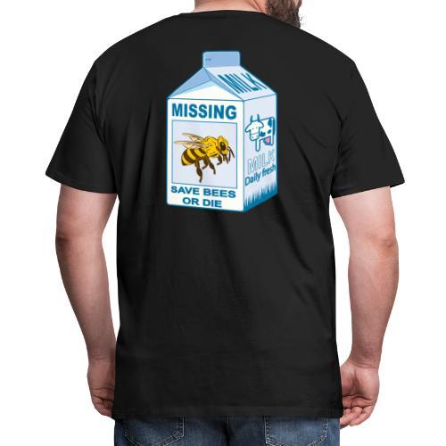 Missing Bees - Men's Premium T-Shirt