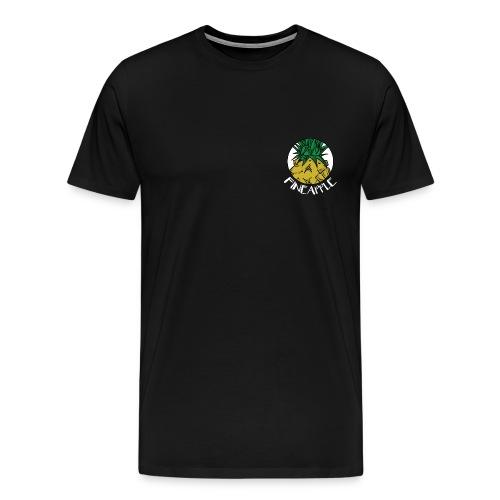 UNDV - Fineapple Yellow (black) - Men's Premium T-Shirt