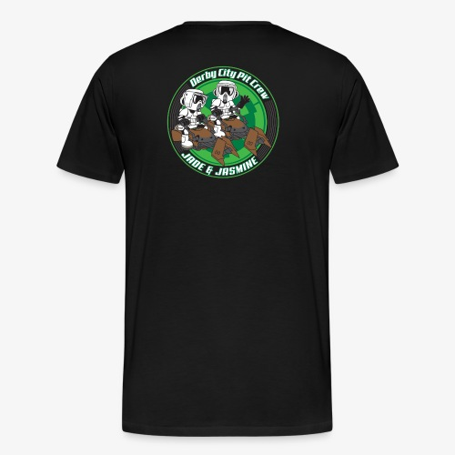 Jade and Jasmine Graphic Art - Men's Premium T-Shirt