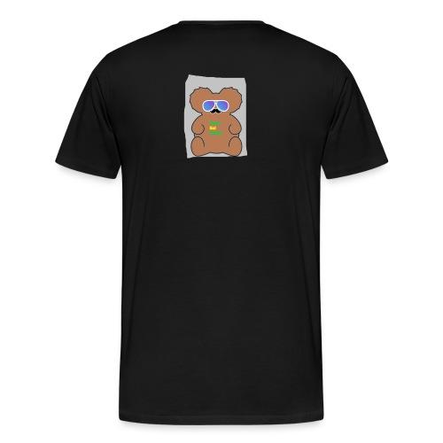 Aussie Dad Gaming Koala - Men's Premium T-Shirt