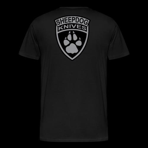 SheepDog Knives Logo - Men's Premium T-Shirt