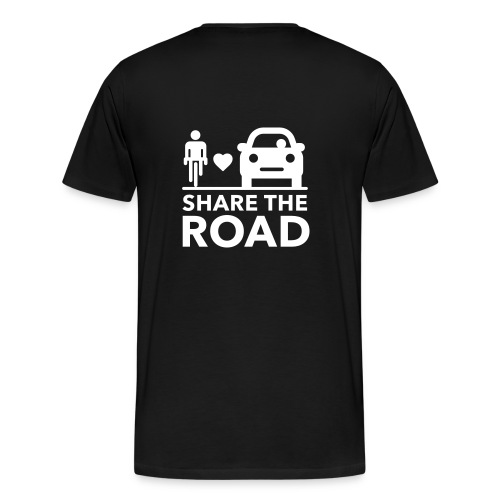Share the road - Men's Premium T-Shirt