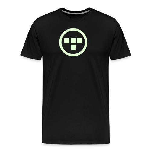 TRON uprising front - Men's Premium T-Shirt