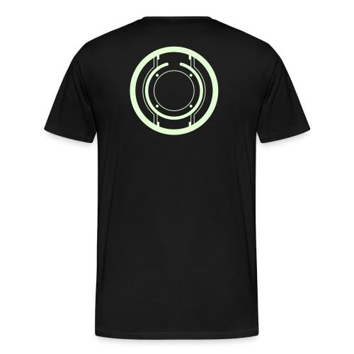 TRON uprising disc - Men's Premium T-Shirt