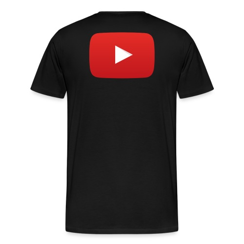 YouTube icon full color png - Men's Premium T-Shirt