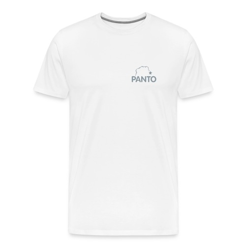 panto stencil smallest - Men's Premium T-Shirt