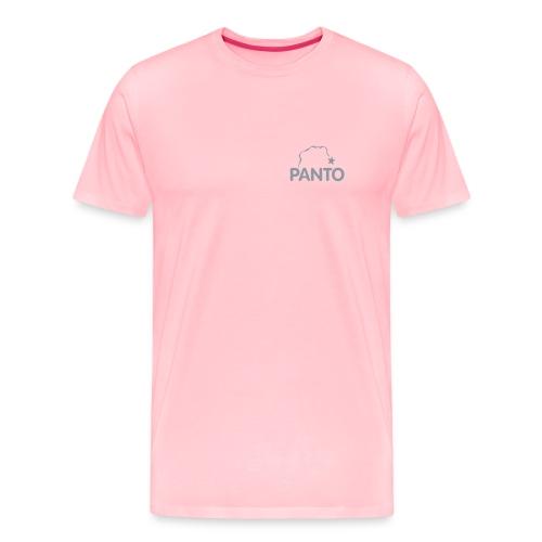 panto stencil smallest - Men's Premium T-Shirt