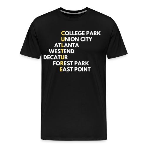 Culture Atlanta - Men's Premium T-Shirt