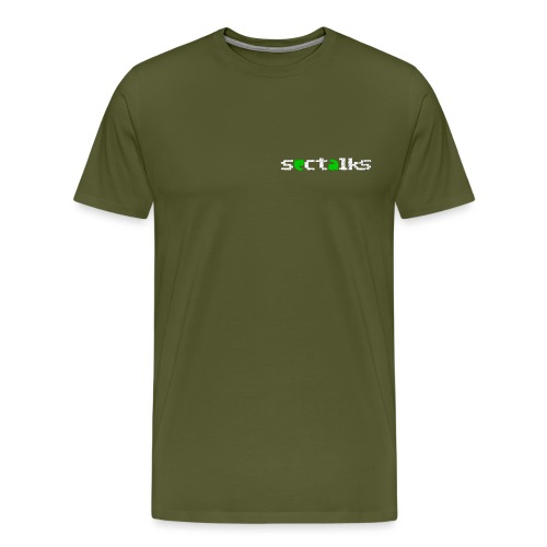 SecTalks Chalk - Men's Premium T-Shirt