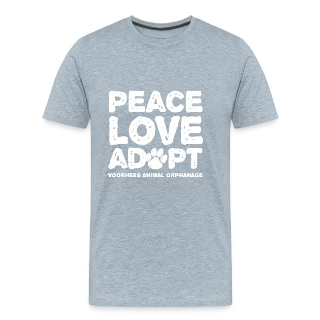 Peace Love Adopt Front png