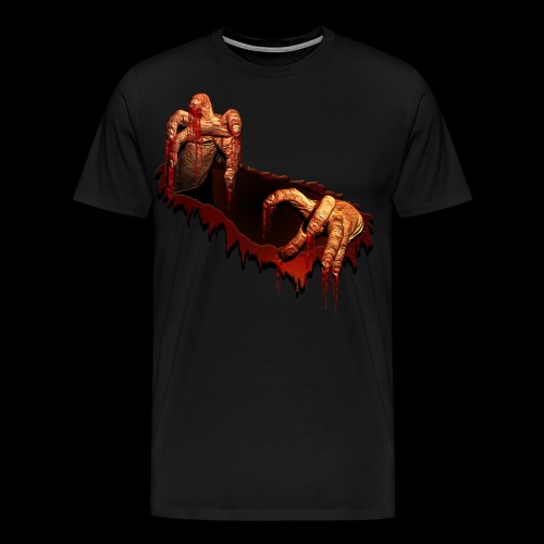 Zombie Shirts Gory Halloween Scary Zombie Gifts - Men's Premium T-Shirt