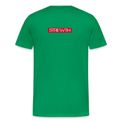 strewth red jpg - Men's Premium T-Shirt