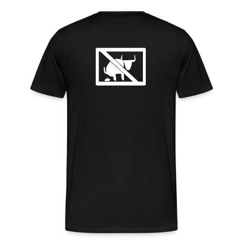 No Bull logo - Men's Premium T-Shirt