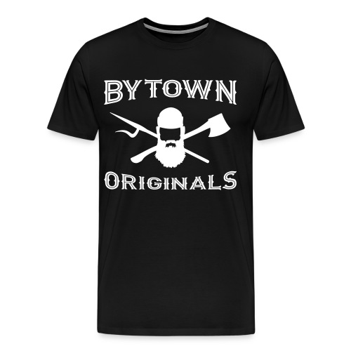 Bytown White - Men's Premium T-Shirt
