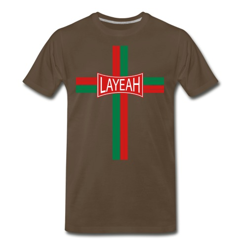 Portugy Cross Three - Men's Premium T-Shirt