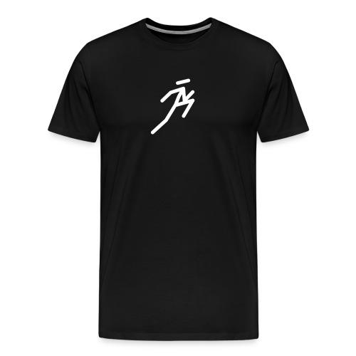 N Ninja Jumping - Men's Premium T-Shirt