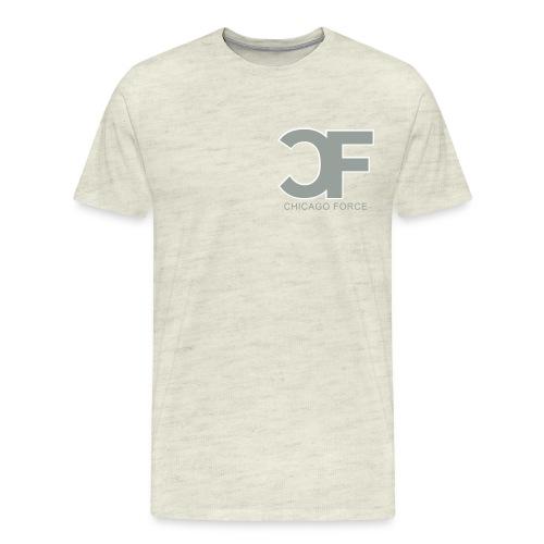 CF Logo Original vector w Chicago Force - Men's Premium T-Shirt