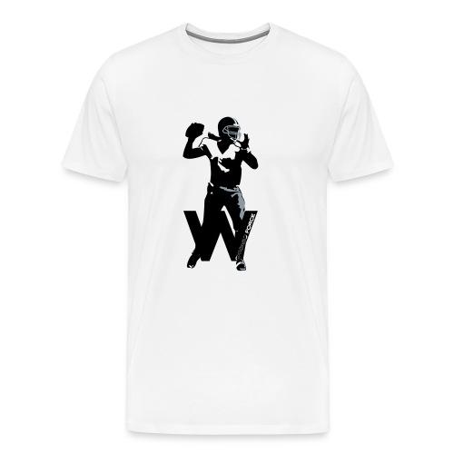 QB vector - Men's Premium T-Shirt
