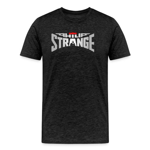 Philip Strange Logo black - Men's Premium T-Shirt