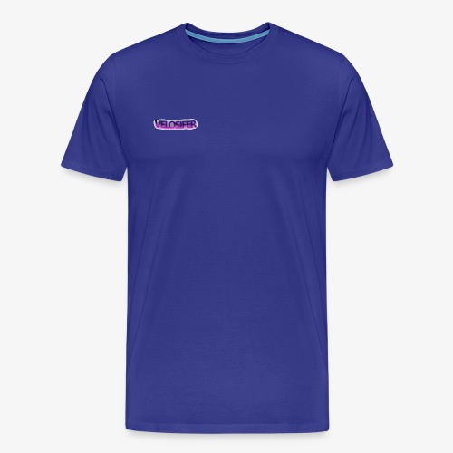 Velosifer Logo Made By Emerald! - Men's Premium T-Shirt