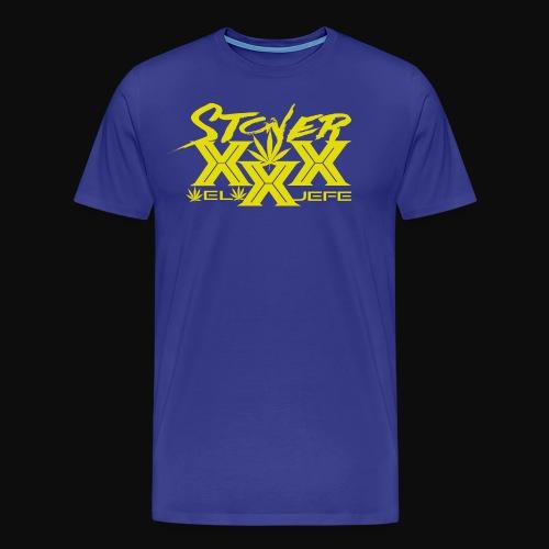 Stoner XXX Design by Beviyan the Design Queen - Men's Premium T-Shirt