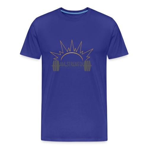 AM_Strength - Men's Premium T-Shirt